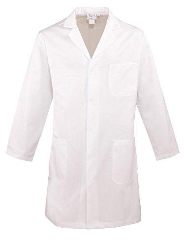 Premier Men's work wear Jacket Bianco