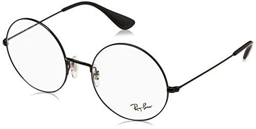 Ray-Ban Unisex-Erwachsene 0RX 6392 2509 53 Brillengestelle, Schwarz (Black),
