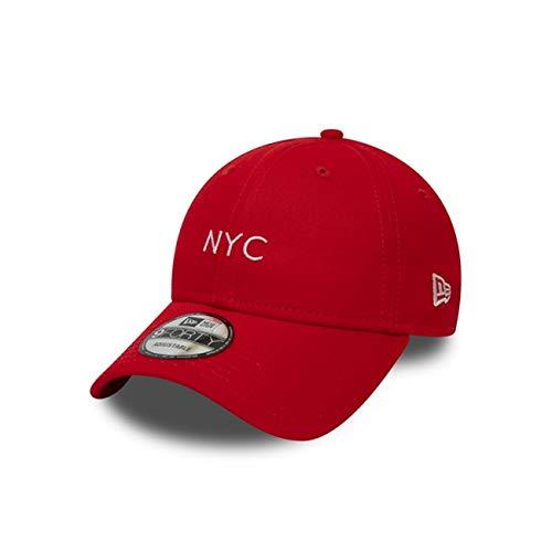 A New ERA Unisex-Erwachsene NYC Seasonal 9forty Ne FDR Kappe, Rot, Einheitsgröße