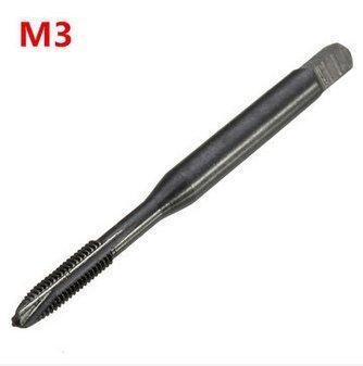 Hitommy M3/M4/M5/M6/M8HSS Nitrid Beschichtet Gewindebohrer Metrisches Spirale Hand Gewinde Gewindebohrer M3