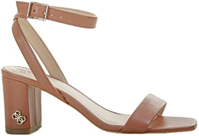 Guess Brown Heel Sandals by 2018 Letztes Modell  Mode Schuhe Billig Online-Verkauf