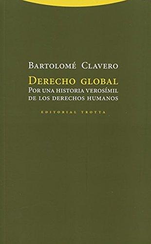 Derecho global por Bartolomé Clavero