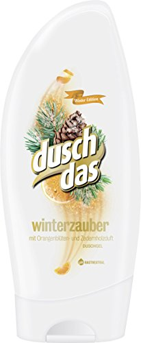 Duschdas Duschgel Winterzauber mit Orangenblüten & Zedernholzduft, 6er Pack (6 x 250 ml)