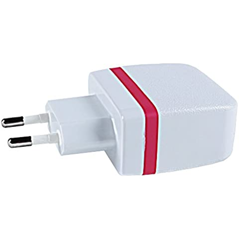 [Wall Charger--YILON Top Travel Chager Dual USB Wall Charger Certified Charge ]-- Compatible models:Foldable Plug for iPhone iPad, Samsung Galaxy, HTC Nexus Moto Blackberry, Bluetooth Speaker Headset & Power Bank with EU