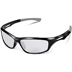 sunglasses restorer Gafas Ciclismo Fotocromaticas Modelo Ordesa, en la Segunda Foto se Puede apreciar el Tono Real [ 0% - 40% ]