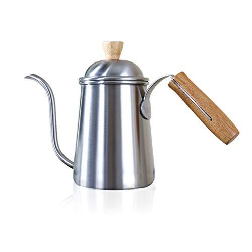 TAOtTAO Handkaffeemaschine Gießen Sie Kaffee-Tropftopf-Teekanne-Teekessel Lange über Schwanenhals-Edelstahl (B) -