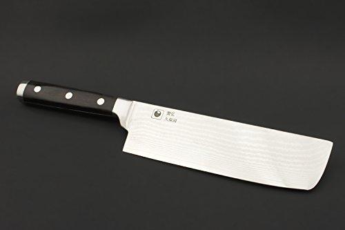 KATAHIRO KUBOTA - NAKIRI DAMAST Kochmesser der Superlative aus japanischem VG-10 High-Carbon Stahl