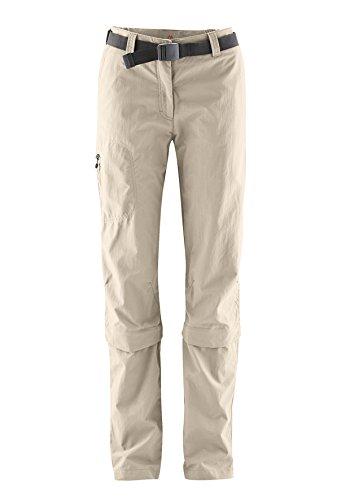 Maier Sports Kama Pantalon zippé pour femme XL/XXL Tiramisu