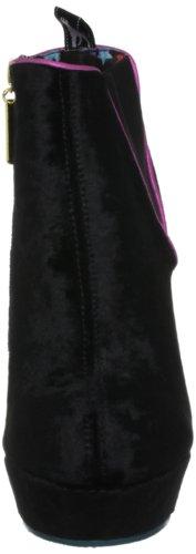 Babycham Pluto Side Zip, Bottes femme Noir-V.6