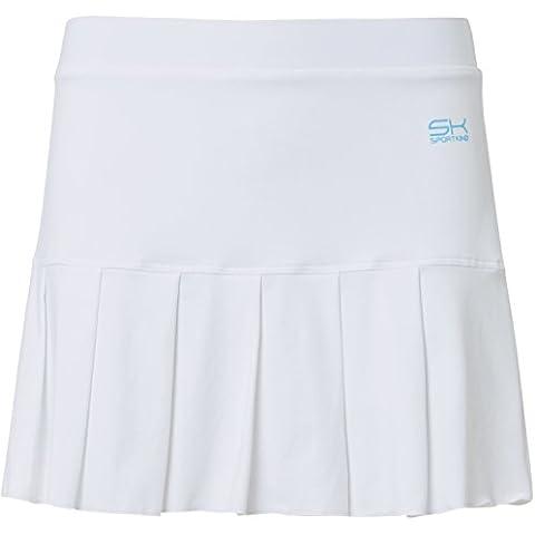 Sportkind gonna a pieghe con pantaloncini integrati (=skort) da donna