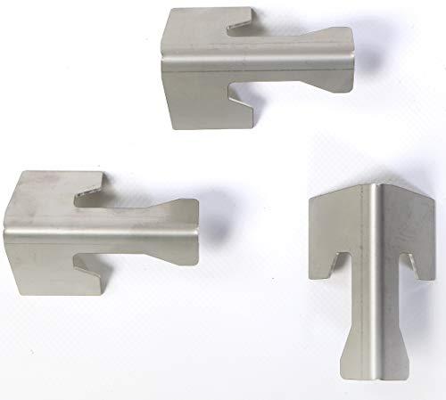 feuertonnen Wohlers Universal Abstandshalter aus Edelstahl 3 Stück | Feuertonnen | Feuerplatten (3 Stück) |