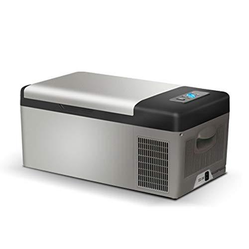 LRHYG Kühlbox Tragbarer Kompressor Kühlschrank Mit Gefrierfach  Auto Und Zuhause Sind Verfügbar Camping Travel Picknicks 15 Liter (Size : A)