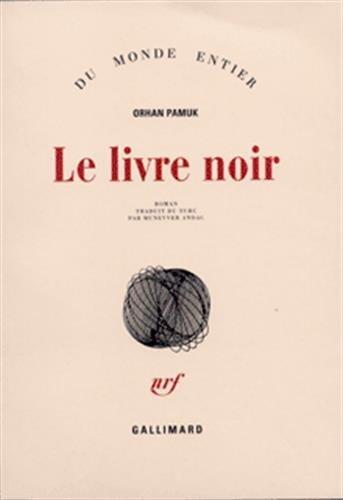 Le Livre noir par Orhan Pamuk