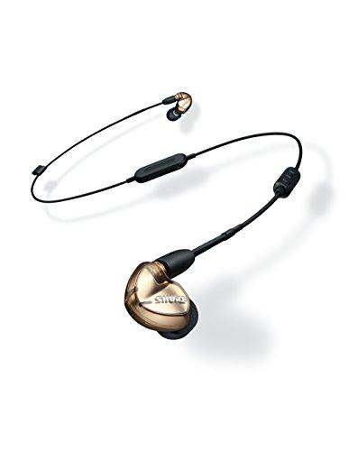 Shure SE535-V+BT1-EFS Sound Isolating Ohrhörer - Bluetooth In-Ear Ohrhörer mit passiver Geräuschunterdrückung & drei hochauflösenden Treibern - Bronze - 3
