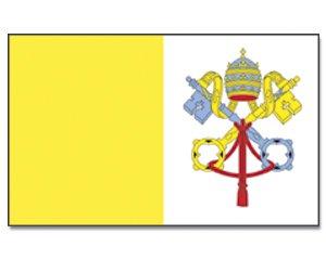Drapeau de la cité du vatican, 90 x 150 cm