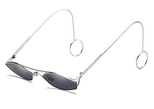 Skudy Sonnenbrille Katzenauge Trend Sonnenbrillen Steampunk Rahmen Brille Matte Rubber Cat Eye Sonnenbrille Fischen Unisex