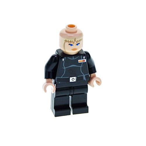 1 x Lego System Figur Frau Star Wars Expanded Universe Juno Eclipse Torso schwarz Weibliche Umriss ohne Kavallerie-Kappe sw182*