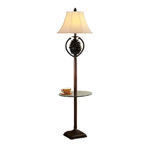 Tannenzapfen Harz Stehlampe moderne minimalistische Wohnzimmer Schlafzimmer vertikale Leuchte lesen Stehleuchte -