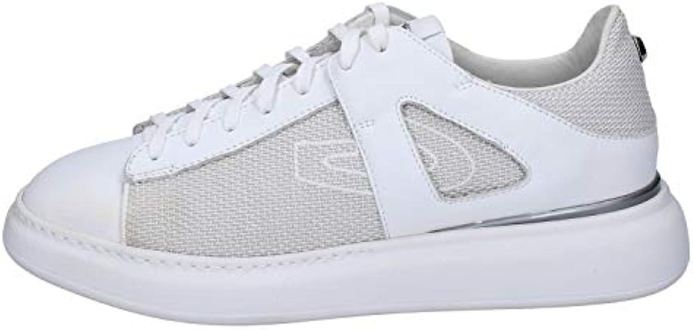 Mr.     Ms. GUARDIANI SPORT scarpe da ginnastica Uomo Tela Bianco servizio Più economico Bene selvaggio | Fornitura sufficiente  | Scolaro/Signora Scarpa  151bee