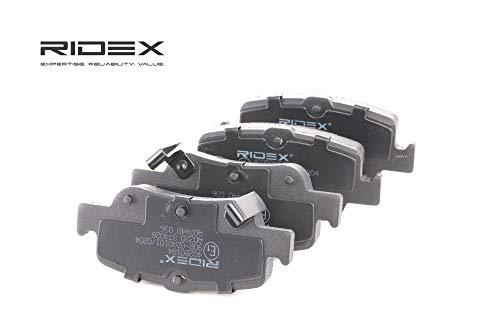 Ridex 402B0184 - Kit pastiglie freno a disco