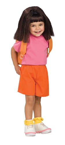 Rubies Costume Co Child's Wig Dora The Explorer (peluca)