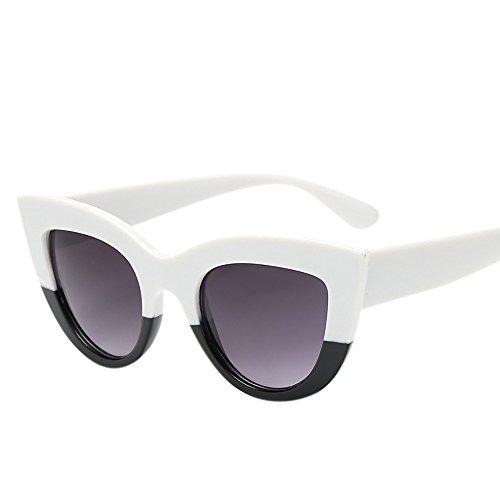 Sonnenbrille, Zolimx Frauen Vintage Cat Eye Sonnenbrille Retro Brillen Mode Damen-Sport & Freizeit Sonnenbrillen für polarisierte Sonnenbrillen Brillen Polarisierte Polaroid Schmuck (G)
