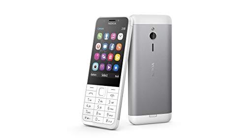 Nokia 230 Dual-SIM light silber