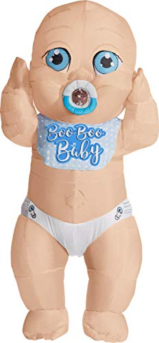 Boo Boo Baby Inflatable Adult Costume, One (Big Baby Kostüm Großbritannien)