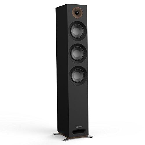 Jamo S 809240W schwarz Lautsprecher-Lautsprecher (kabelgebunden, 240W, 37-26000HZ, 8Ohm, schwarz) - Ohm Lautsprecher 8 Tower