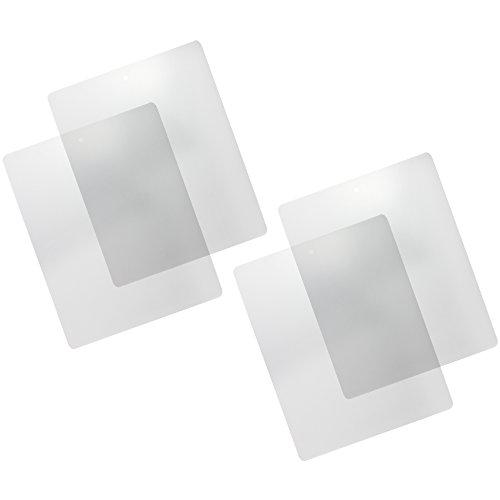 com-four-4x-schneidematte-schneidunterlage-bastelunterlage-transparent-flexibel-38-x-305cm