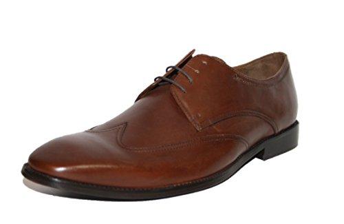 Manz 153001, Chaussures à lacets homme Braun (cognac 177)