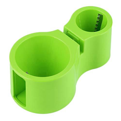 Vige Überlegene Qualität Dual Spiral Gemüseschneider Zucchini Nudel Pasta Band Spaghetti Slicer Nützliche Küche Werkzeug Billig Stilvoll - Grün Band Slicer