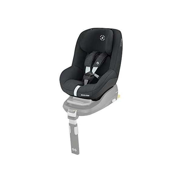 Maxi-Cosi Pearl Toddler Car Seat Group 1, ISOFIX Car Seat, Compact, 9 Months-4 Years, 9-18 kg, Scribble Black Maxi-Cosi Isofix anchorages provides the safest, easiest and quickest way to install a car seat  Innovative stay open harness stays open to easily get the child in and out in seconds  Very easy adjustment of safety harness and headrest height  1