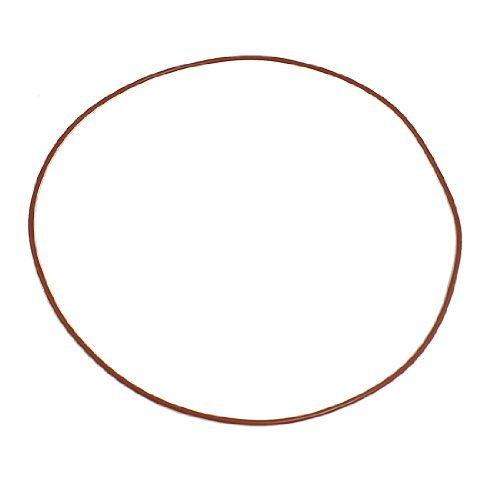 200 mm x 195 mm x 2,5 mm de silicona O Ring Retenes Lavadoras Red