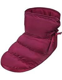 f7e025cea22f5 Chaussons Intérieur Thermique Pantoufles de Maison Bureau Chambre Super  Doux Chausson Boots Bottes Hiver avec Doublure