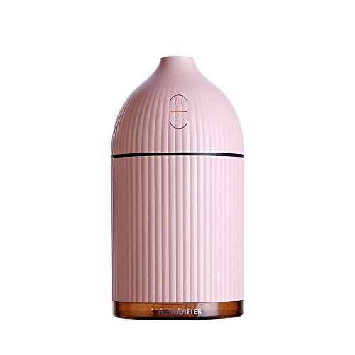 Sencillo Vida Purificador de Aire Ultrasónico Humidificador Aromaterapia Difusor de Aceites Esenciales Difusores de Aroma para Casa, Dormitorio, Baño, Yoga, Sauna y Oficina
