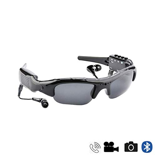Space element Bluetooth-Sonnenbrille 1080P Kamera Brille Videorecorder Bluetooth KopfhöRer Freisprecheinrichtung GläSer Sport Radfahren Sonnenbrillen Mit Austauschbaren Nachtsichtlinsen