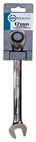 Omega Mechanix M7817 Clé à Tête Articulée Réversible, 17 mm