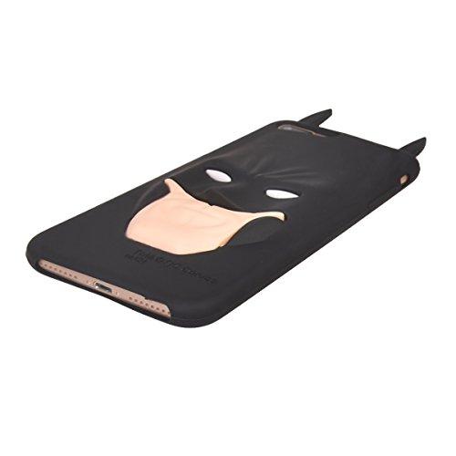 """iPhone 7 Plus (5.5"""") Hülle,COOLKE 3D Fashion Klassische Karikatur weiche Silikon Shell Schutzhülle Hülle case cover für Apple iPhone 7 Plus (5.5"""") - 004 014"""