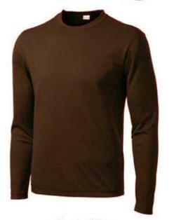 Dri Fit Men's Long Sleeve Hiking / Running T-Shirt