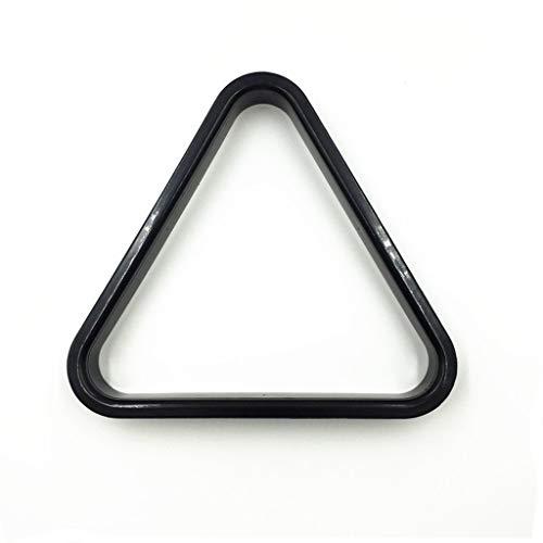 WXS Biilard-Dreieck, Kunststoff Mini American Spots & Stripes Poolbälle & Triangle, Verschiedene Größen (Size : 38MM)