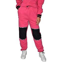 Grimey Pantalón Chica Nemesis Polar Sweatpant Pink-S