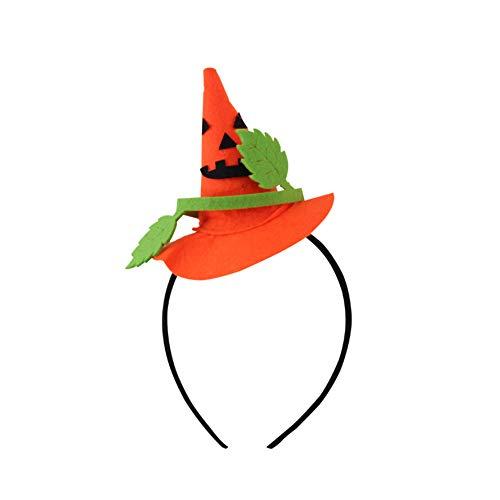 Da.wa halloween strega testa fibbia strega puntata cappello puntelli cappellino tiara fascia regali di halloween decorazione festa zucca stile
