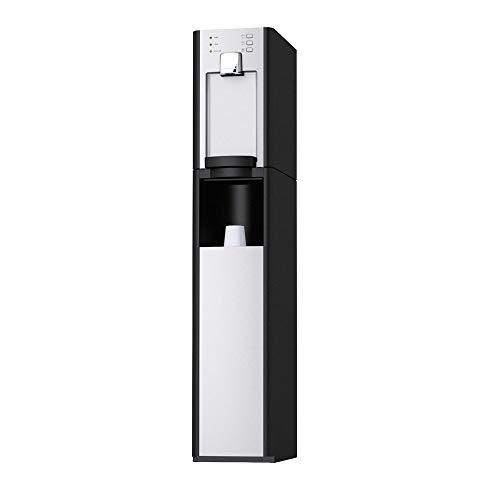 SPRUDELUX Auftisch-Trinkwassersystem RED Diamond inkl. Unterschrank + Filtereinheit + Druckminderer ohne CO2 Flasche. Profi-Wassersprudler. Spritziges Mineralwasser/Sprudelwasser Wassersprudler