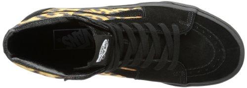 Vans U Sk8-hi (Leopard) Black, basket mixte adulte Noir - Schwarz ((Leopard) black/black)