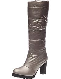 Kesslord - Botas de tela para mujer