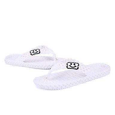 Slippers & amp da uomo;Pelle leggera estiva Soles microfibra informale all'aperto sandali piani del tallone sandali US8 / EU40 / UK7 / CN41