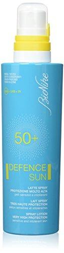 Bionike Defence Sun Latte Spray 50+ Protezione Molto Alta, 1 pezzo, 200 ml