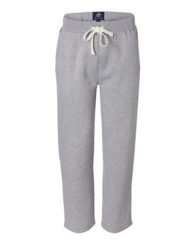 J. America Mens Premium Open Bottom Sweatpants (8992) -Oxford -3XL 20 Fleece Open Bottom Pants