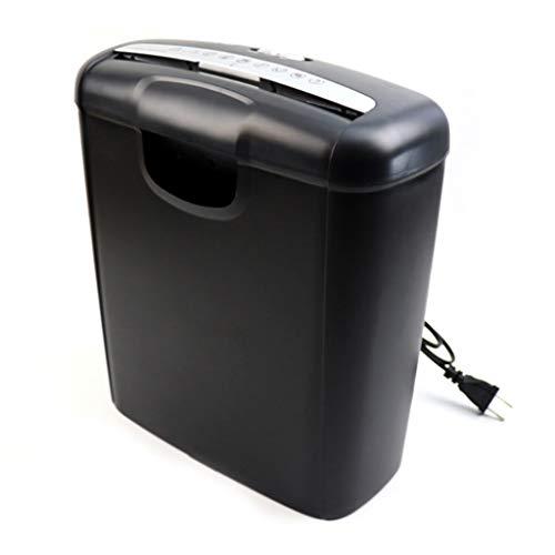 Shredder 6 Pagine Con Taglio Incrociato E Silenzioso Carta Tagliuzzata/Carta Di Credito Con Cestino Da 10 Litri 292 * 142 * 326mm